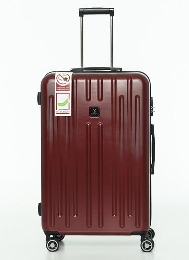 NİPPON 3'lü Set Valiz Bordo
